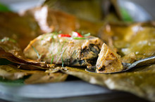 Steamed Fish With Curry Paste ...