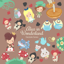 Fairytale Series Alice In Wonderland