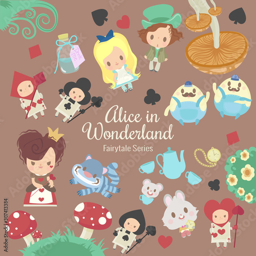 fairytale series alice in wonderland Canvas Print