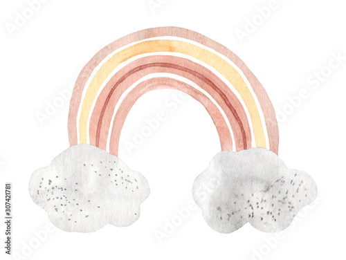 watercolor-hand-painted-cute-rainbow-illustration-isolated-on-white-background