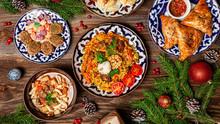 Traditional Uzbek Oriental Cui...