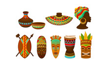 Authentic Tribal African Attri...