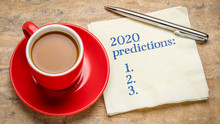 2020 Predictions Text On A Nap...