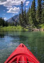 Kayaking On Vermilion Lakes In...