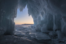 Inside Of Cave In Baikal Lake ...