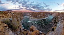 Scenic View Of The Canyon In T...