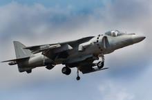 Harrier Jump Jet In Full Hover