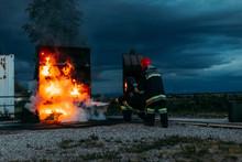 Fireman Teacher Learning How S...