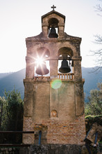 Mediterranean Old Church Bell Tower
