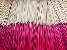 Incense Sticks At Buddhist Tem...