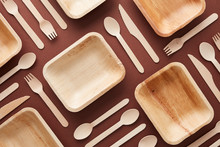 Composition Of Wooden Dishes A...