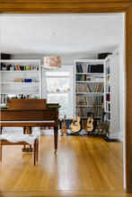 Music Studio With Piano In Home