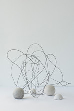 Spherical Shapes And Wire