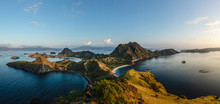Hiker On Padar Island, Komodo ...