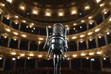 Closeup Of Microphone On Lviv ...