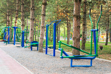 Exercise Stations In Public Pa...