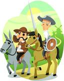 Fototapeta Konie - Don Quixote