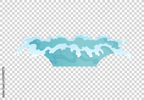Valokuva  Dripping water special effect fx animation frames sprite sheet