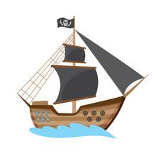 Wooden Pirate Buccaneer Filibu...