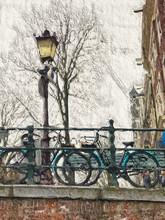 Painted Bicycles Bridge