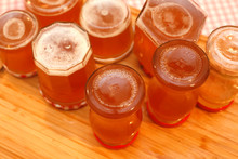 Jars With Quince Jelly