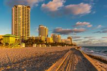 Skyscraper By Miami Beach Agai...