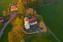 Aerial View Of St. Johann Bapt...