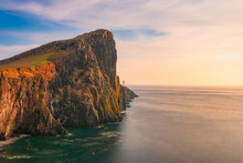 Neist Point Lighthouse By Sea ...