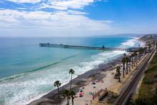 Snapshot Of San Clemente Beach...