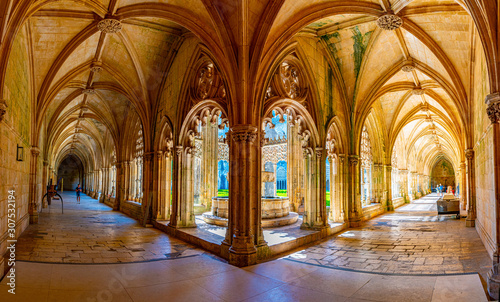 Courtyard of the Batalha monastery in Portugal Wallpaper Mural