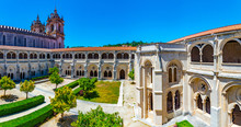 Cloister Of Silence At Alcobac...