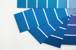 canvas print picture designer desktop. Color sample guide classic blue. color of the year 2020 pantone