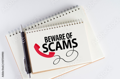 фотографія Beware Of Scams