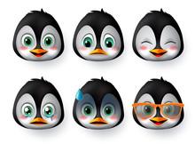 Penguins Emoji Or Emoticon Fac...