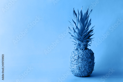 pineapple-on-a-clean-blue-background