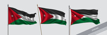 Set Of Jordan Waving Flag On I...