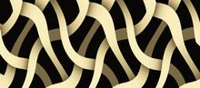 Monochrome Twisted Lines Patte...