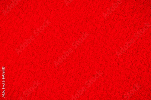 Photo  Red towel, cloth, fabric surface backgrounds/Textures