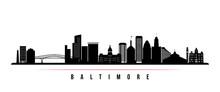 Baltimore Skyline Horizontal B...