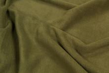 Fabric Fleece Green Top View. ...