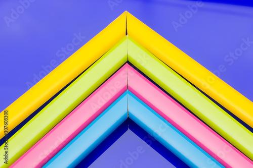 Gamas de colores, colores básicos y complementarios Canvas Print