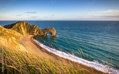 Durdle Door on the Jurassic Coast in Dorset, UK Canvas Print