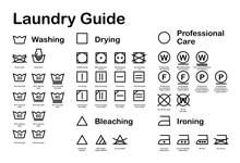Laundry Guide. Care Symbols. V...