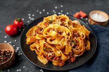 Pasta Bolognese With Spices, I...