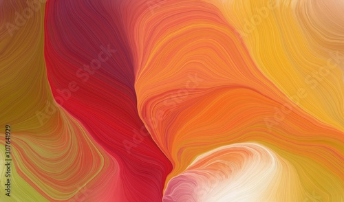 curvy background design with peru, firebrick and skin color #307641929