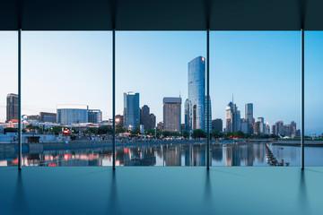 Fototapeta na wymiar Manhattan office city view