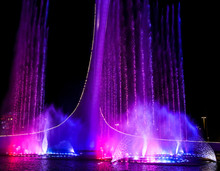 Dancing Fountain In The Park