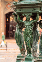Antique Wallace Fountains With...