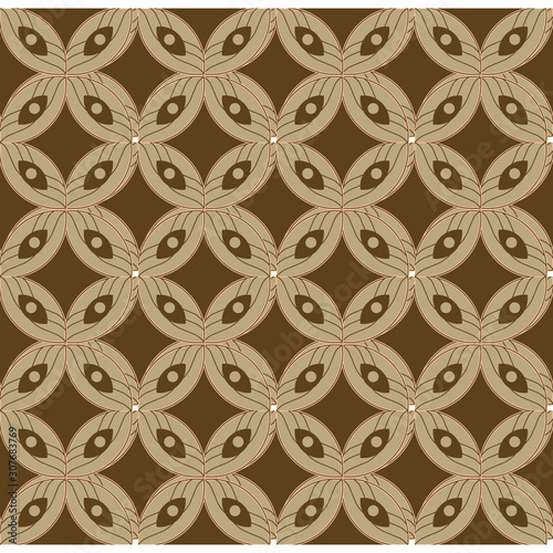 Abstract pattern javanese style.Batik is an indonesian traditional pattern that have many of type,