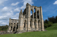 Rievaulx Abbey, North Yorkshire Moors, North Yorkshire, England